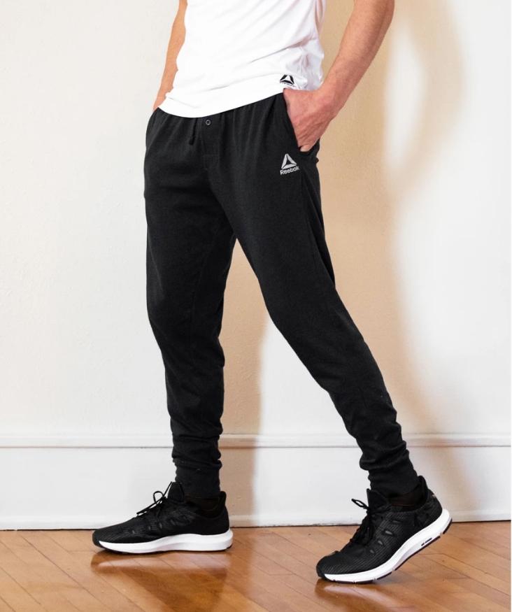 Reebok Men's Core Knit Jogger Loungewear Pants Only $9.99, Reg $45.00 + Free Shipping!