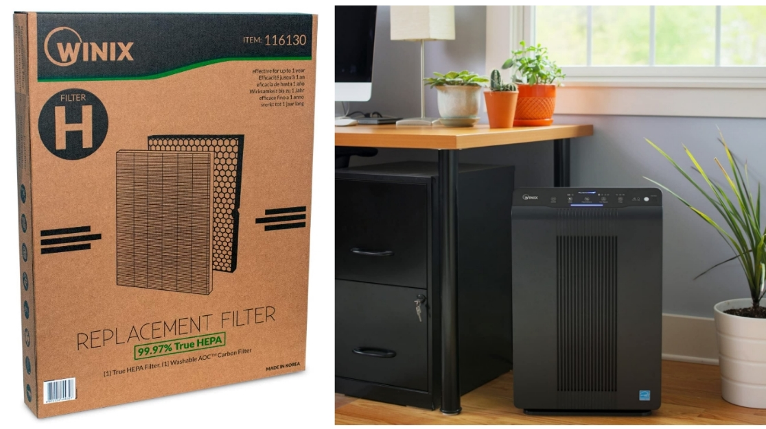 Winix Replacement Filter H for 5500-2 Air Purifier Only $44.00, Reg $79.99 + Free Shipping at Amazon!