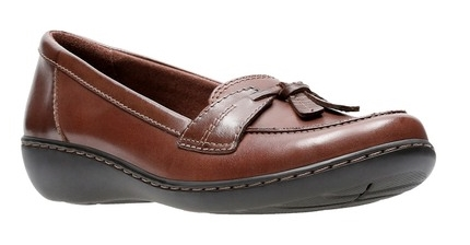 Clarks Ashland Bubble Leather Slip-On Loafer Only $22, Reg $85 at Nordstrom Rack!