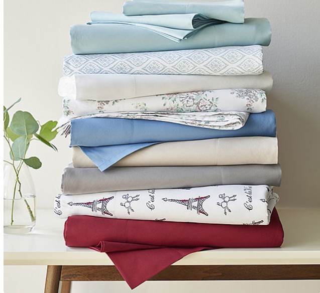 Home Expressions Microfiber Plus Ultra Soft, Wrinkle Resistant Sheet Set Only $9.74, Reg $26 + Free Store Pickup at JCPenney!