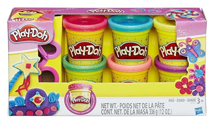 Play-Doh Sparkle Compound Collection Only $4.49, Reg $9.99 at Amazon!