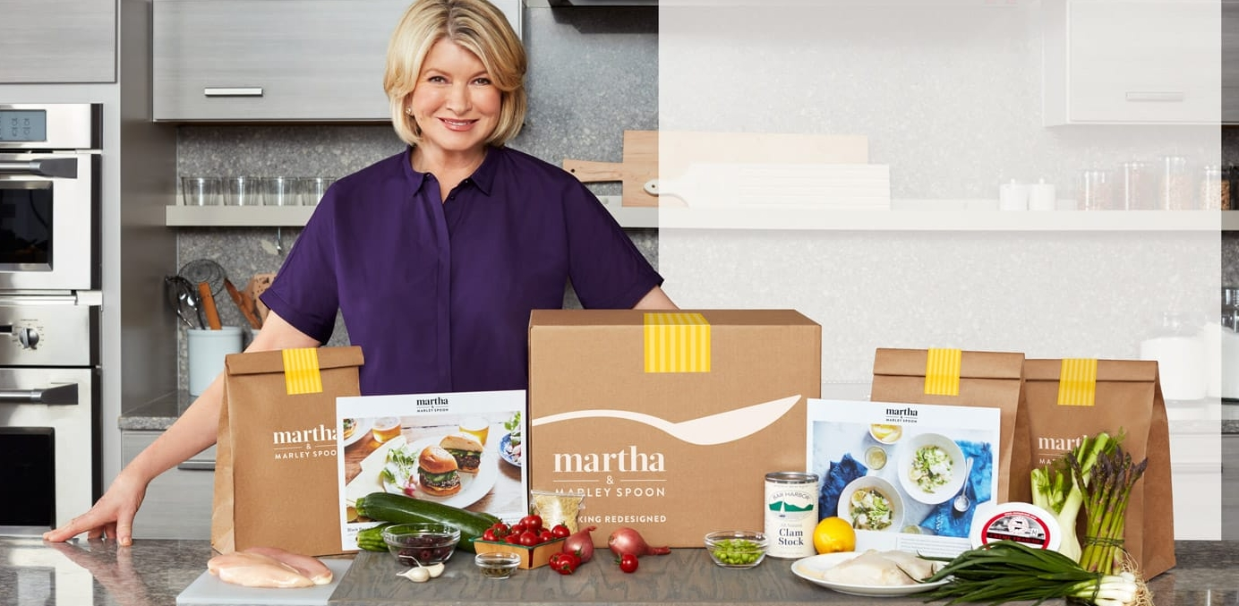 Martha Stewart Meal Kits Delivered Right To Your Door With Martha & Marley Spoon!