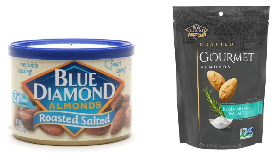 Blue Diamond Almonds 5-6 oz Cans or Bags Only $2.50 Each (Reg. $4.99 ea) + Free Store Pickup at Walgreens!
