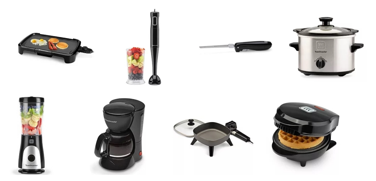 Toastmaster Small Kitchen Appliances Only $7.79 Shipped!