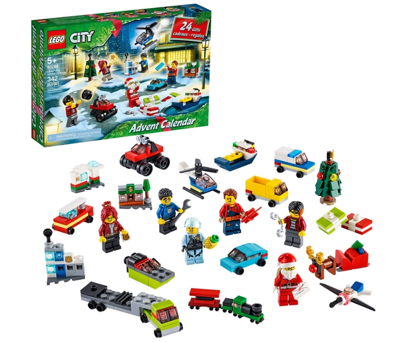LEGO City Advent Calendar Playset, Includes 6 City Adventures TV Series Only $19.97, Reg $29.99 at Amazon!