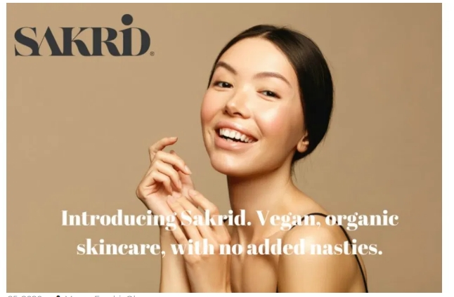 Free Sakrid Skincare & Hair Care Sample Bundle
