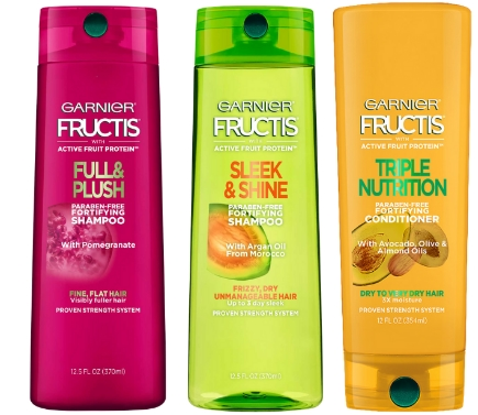 Garnier Fructis Hair Care Products Only 99¢ Each at Walgreen's + Free Store Pickup!