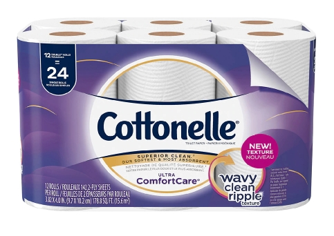Cottonelle Toilet Paper Double Rolls 12-Pack Only $2.99 (Reg. $9.99) at Walgreens! (LAST DAY!)