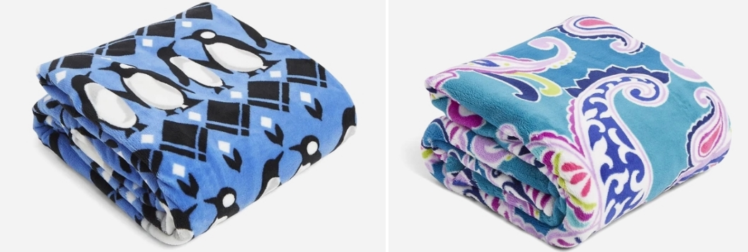 Vera Bradley Throw Blankets as Low as $15 (Regularly $59) + Additional 30% Off!