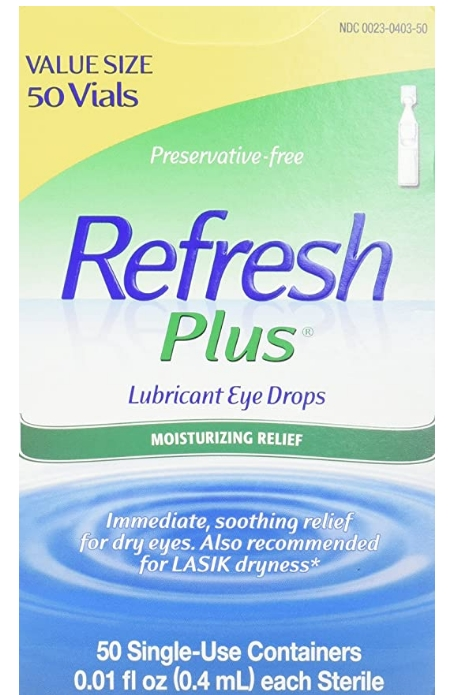 Refresh Plus Eye Drops 50-Count Only $7.99 Shipped! (Reg. $15.99) at Amazon!