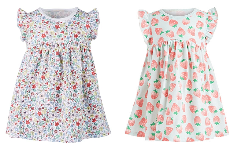 First Impressions Baby Girls Printed Cotton Dress Only $5.33, Reg $18.00 + Free Store Pickup at Macy's!