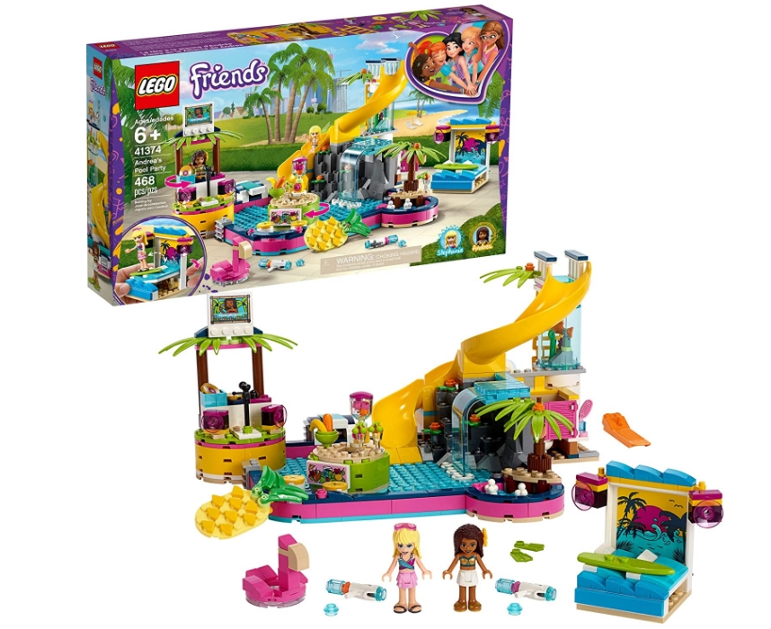 LEGO Friends Andrea's Pool Party Building Set 468-Piece Only $34.97, Reg $49.99 + Free Shipping at Amazon!