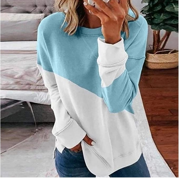Lelili Womens Crewneck Sweatshirt Only $10.49 Shipped (Reg. $29.99) at Amazon (Variety of Colors)