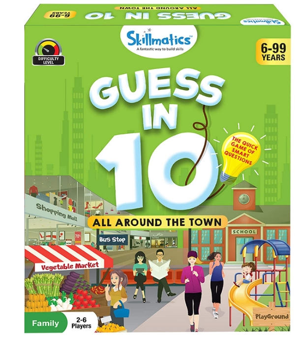Skillmatics Guess in 10 All Around The Town Card Game of Smart Questions Only $11.89, Reg $13.99 at Amazon!