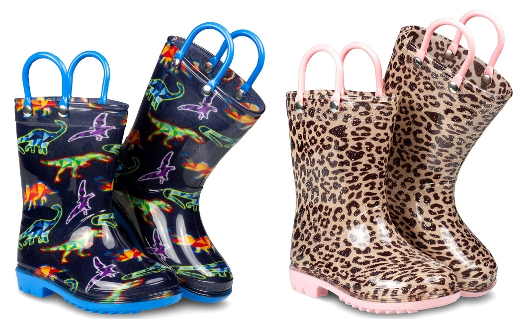 ZOOGS kids Rain Boots Only $9.99 a Pair at Zulily!