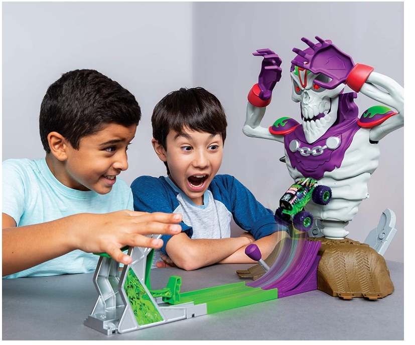 Monster Jam Grim Takedown Playset with Lights and Sounds Only $24.99, Reg $49.99 + Free Shipping!