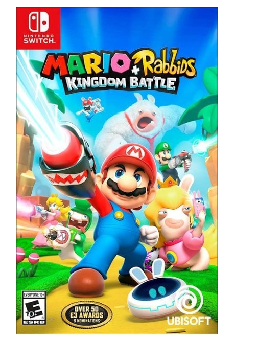 Mario + Rabbids Kingdom Battle for Nintendo Switch Only $14.99 (Regularly $59.99) + Free Shipping!