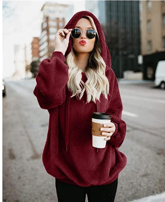 Puff Women's Sherpa Pullover Sweatshirts Only $17.54, Reg. $26.99 + Free Shipping!