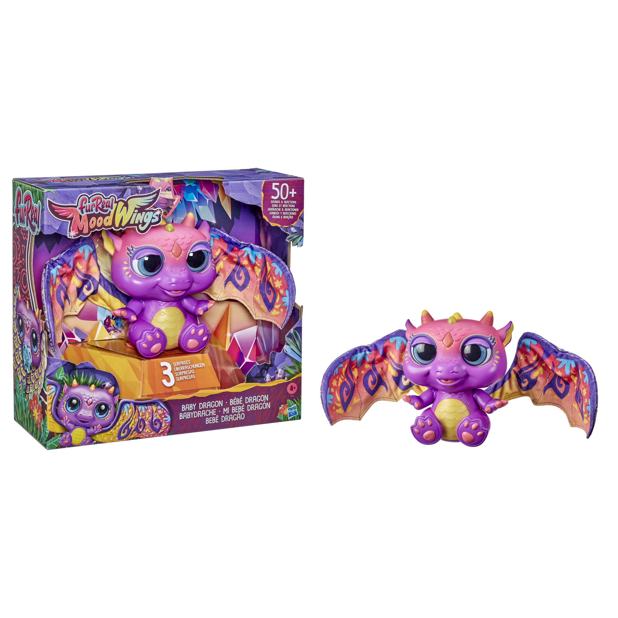 furReal Moodwings Baby Dragon Interactive Pet Only $19.41 (Reg $38.82) + Free Store Pickup at Walmart!