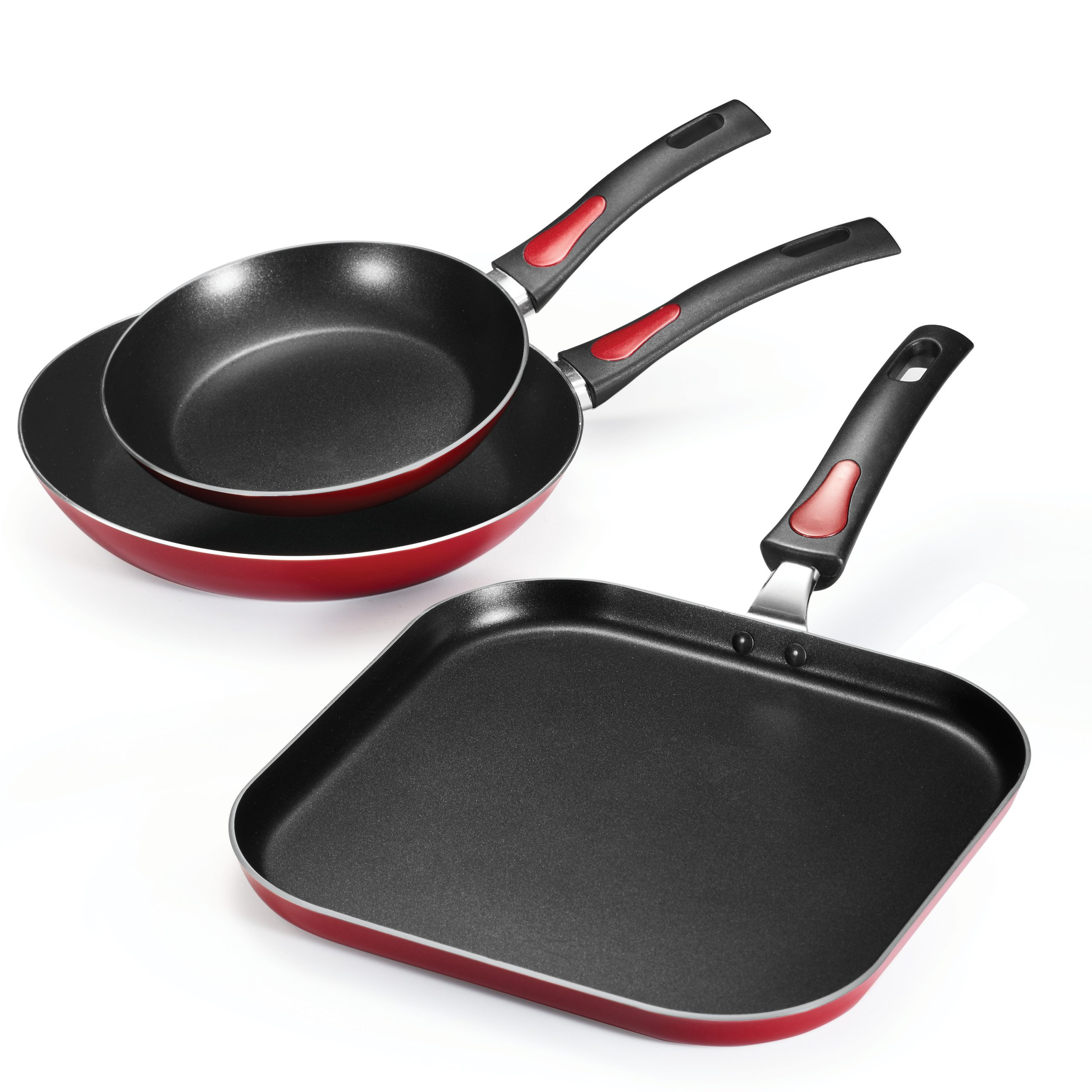 Tramontina Everyday Non-Stick Red Fry Pan & Griddle Set Only $17.94 (Reg $19.94) + Free Store Pickup at Walmart.com!