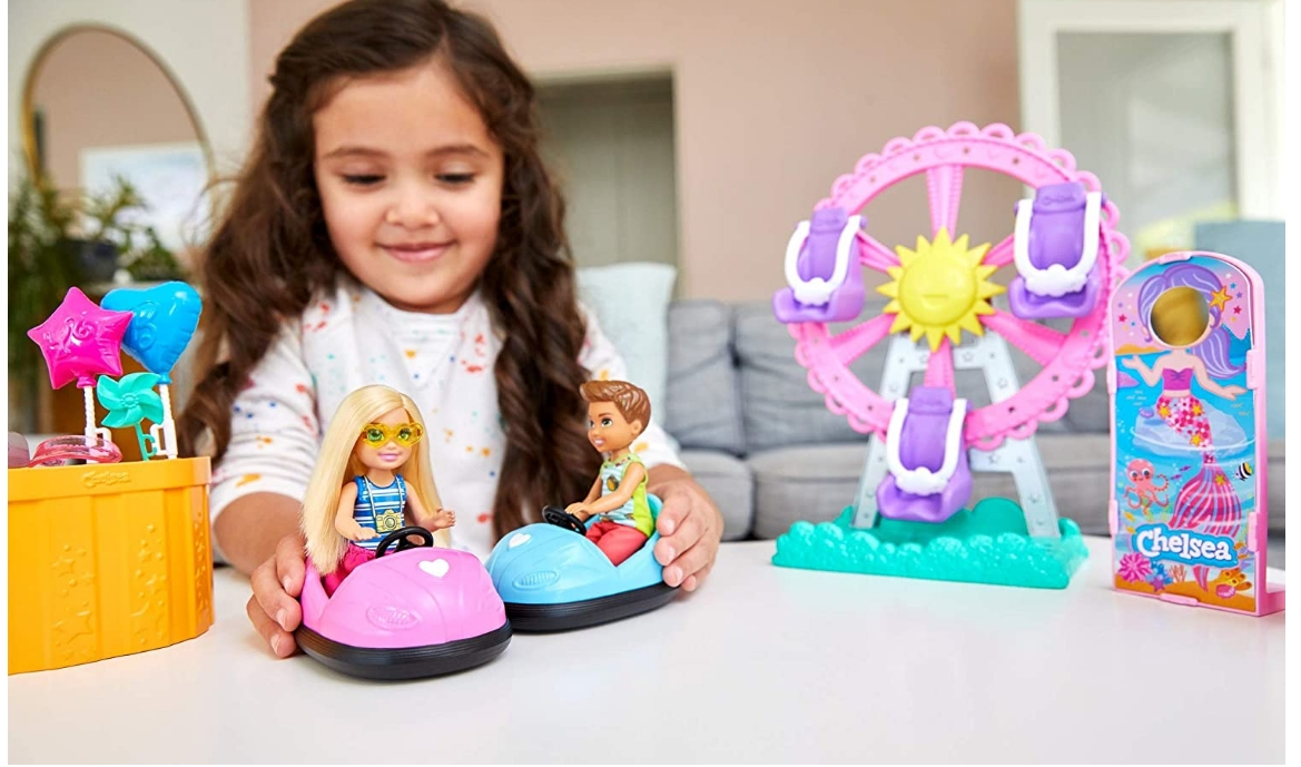 Barbie Club Chelsea Carnival Playset Only $26.99 (Reg $29.99) + Free Store Pickup at Target.com!