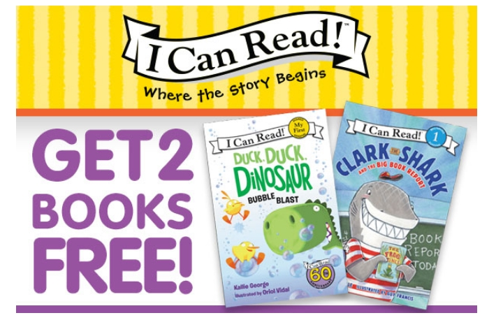 HURRY! Receive 2 FREE Kids Books Shipped For Only $1!