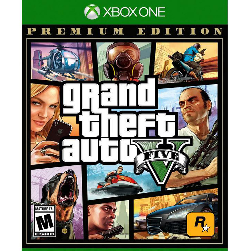 Grand Theft Auto V: Premium Edition – Xbox One Only $19.99 (Reg $29.99) + Free Store Pickup at Target.com