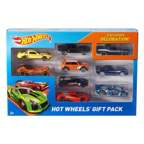 Hot Wheels Diecast 9 Car Gift Pack Only $7.11 (Reg $9.49) + Free Store Pickup at Target.com!