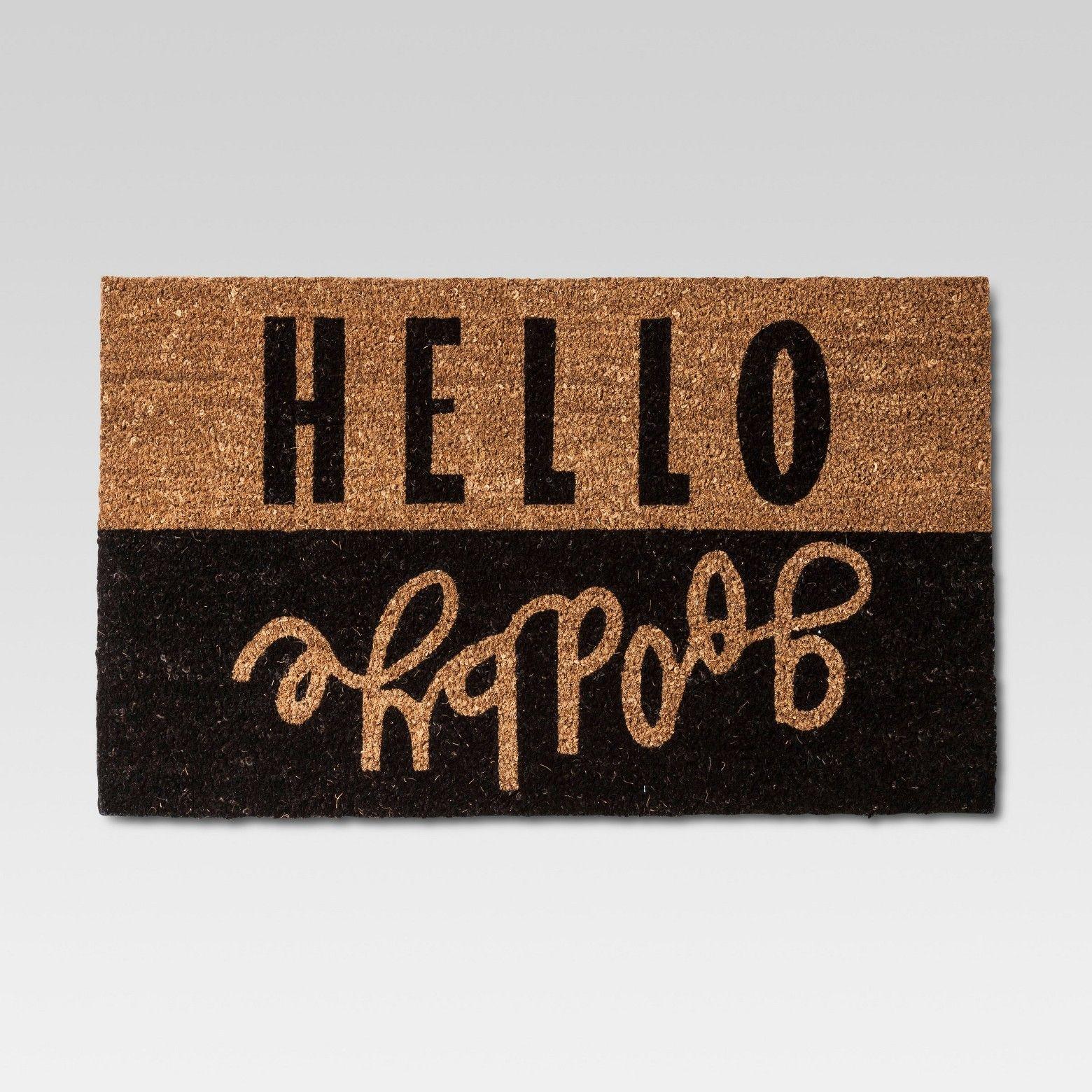 Hello Goodbye Doormat Only $10.39 (Reg $12.99) + Free Store Pickup at Target.com!