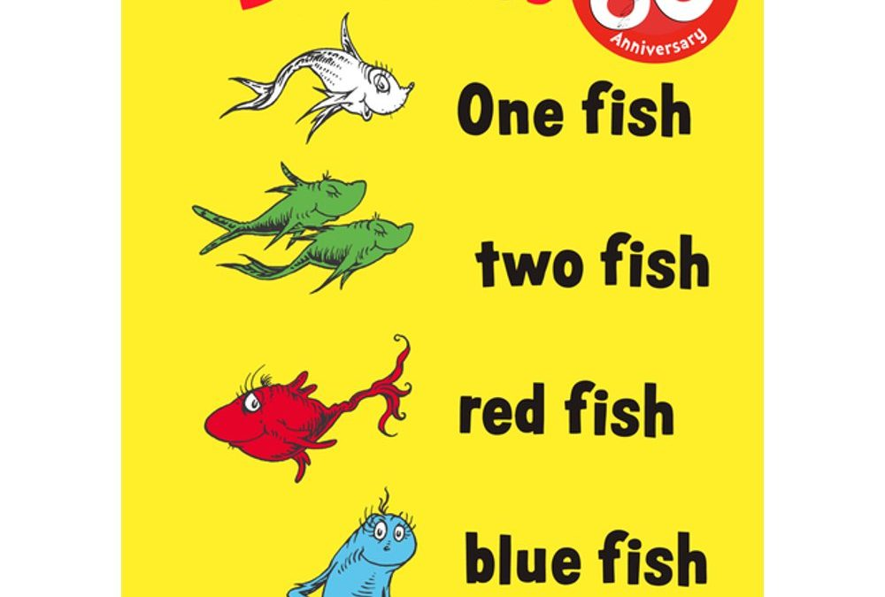 One Fish Two Fish Red Fish Blue Fish Only $5.23 (Reg $9.99) + Free Store Pickup at Walmart.com!
