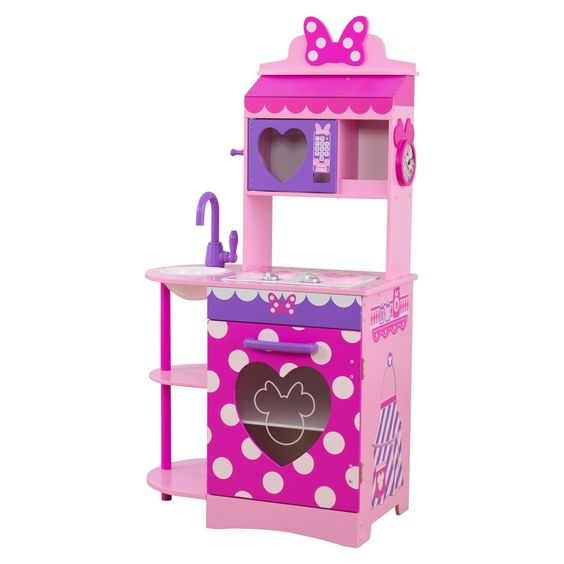 KidKraft Disney Jr. Minnie Mouse Toddler Kitchen Only $79.19 (Reg $98.99) + Free Shipping!